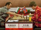Tournoi d'échecs Nanjing Carlsen Wang Live
