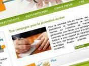 """""""Pouvoir don"""" campagne pour inciter Français donner plus"""