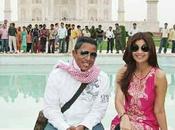 Shilpa Shetty fait visiter Malh Jermaine Jackson