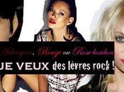 Tendance Maquillage: Aubergine, Rouge Rose bonbon, veux bouche rock