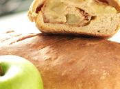 Bread day: apple, cider speck pagnotta