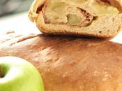 Bread day: apple, cider speck pagnotta