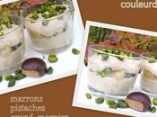 Mousse marrons pistaches
