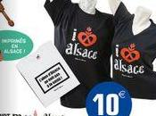 """Tee-Shirts chaussettes """"Made Alsace"""", cadeaux originaux pour fêtes"""