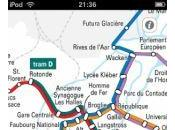 tramway Strasbourg dans iPhone iPod Touch…