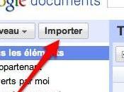 Google Documents: convertissez simultanément plusieurs fichiers format