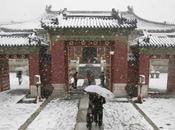 Chutes neige artificielles