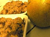 Crumble poire spéculoos