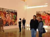 Jeff koons paintings opening