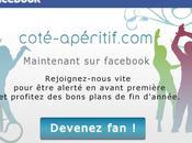 Rejoignez Côté apéritif Facebook profitez avant première d'avantages exclusifs