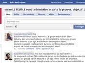 Facebook: groupe pour démission Sarko hacké faire l'éloge l'UMP