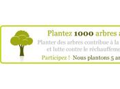 Planter arbres pour rendre blog neutre