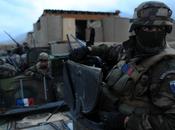 Légion étrangère Raid nuit avec dans vallée d'Uzbin