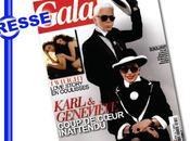 Geneviève relookée Karl Lagerfeld