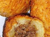 Croquettes manioc viande hâchée