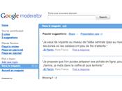 Co-création Internet avec Google Moderator