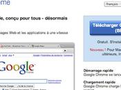 Google Chrome pour bêta!