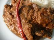 Posto Ghosht Curry cabri pavots