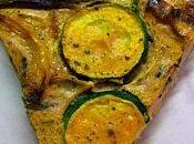 Tarte fine courgettes, mimolette épices goût!!
