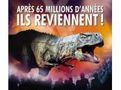 marche dinosaures Paris Bercy