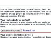 GMail fusionne tous contacts doublons clic!