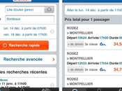 Voyages-sncf.com Horaires réservations trains depuis l'iPhone