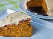 Gâteau potimarron, glaçage caramel