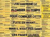 FUiTE, PLOMBiER L'éPONGE. Vincent Delhomme