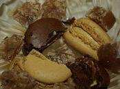 Accommoder restes...macarons crème mascarpone marrons glacés