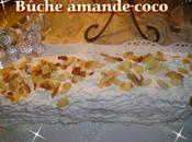 Bûche amande-coco