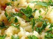 ACCOMPAGNEMENT Ecrasée pommes terre l'ail