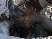 Sauvée ruines d'Haïti grâce