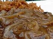 Steaks Hambourg l'oignon vinaigre balsamique