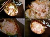 Vermicelles sautés poulet légumes