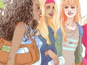 "Ubisoft Sony game ""Cover Girl"" illustrations"