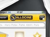 Allociné application iPhone