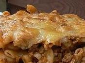 Macaroni crémeux viandes