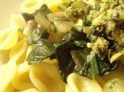 Orecchietti blettes salsa verde anchois, câpres herbes