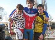 CONCHON GREGORY(VSNM) champion France cyclo cross Ufolep cadets