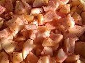 Tarte Pommes Sucre Myrtille Hibiscus
