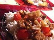 Sauté tofu l'ananas noix cajou meatless monday
