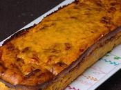 Terrine divine potimarron, parmesan jambon Bayonne