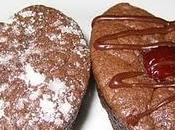 Brownies forme coeur