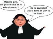 L'avis autorisé Rachida Dati porte robe