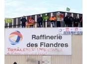 Grève totale chez total Dunkerque