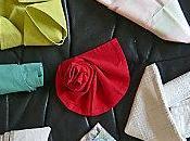 pliages serviettes avec schéma, pour belle table
