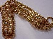 Bracelet Ande doré argenté