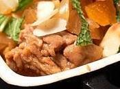 Cocotte d'agneau abricots menthe fraîche