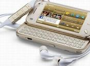 Nokia mini Gold Edition technologies pointe, design exclusif