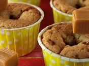 Cupcakes caramel fondant